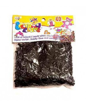 חרוזי גיהוץ - צבע שחור