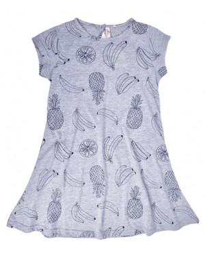 שמלת גרסי קיץ שרוול קצר מימדות 10-14