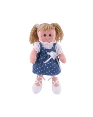 בובת אנושקה - שימלה כחולה
