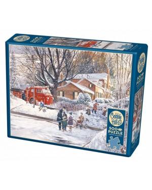 פאזל משחק בשלג 500 חלקים