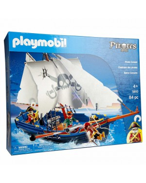 פליימוביל מגה סט ספינת פיראטים דגם 5810