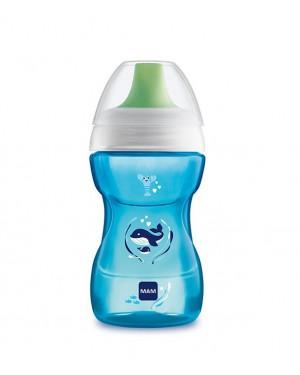 בקבוק אימון 8+ כחול - מאם