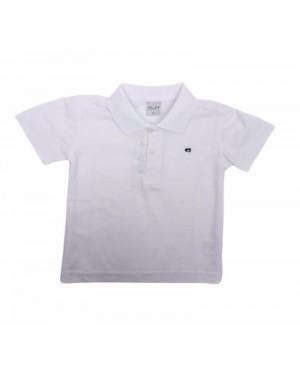 חולצת פולו ילדים | לבן