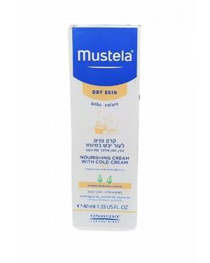 קרם פנים לתינוק | לעור יבש במיוחד | Mustela