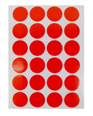 מדבקות עיגולים בצבע אדום.jpg