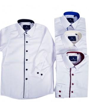 חולצה מכופתרת מעוצבת לבנים ברשת בזאר שטראוס