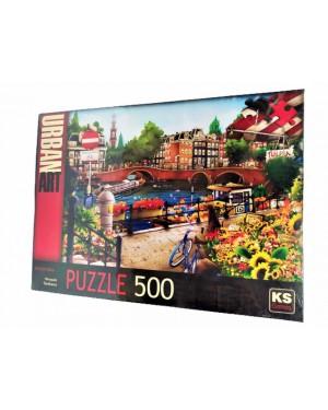 פאזל אמסטרדם - 500 חלקים