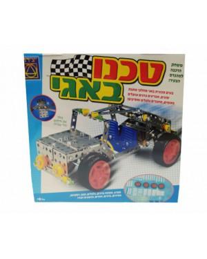 משחק הרכבה טכנו באגי מכונית הכולל 236 חלקים וכלי עבודה