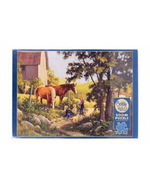 פאזל סוסים - 500 חלקים