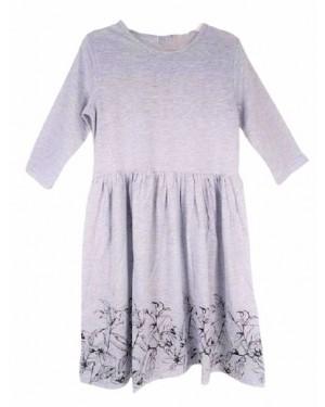 שמלת ג'רסי צבע אפור| מידות לבחירה
