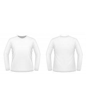 גופיית כרמית פלנל חורף גברים - מידה XL