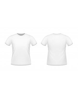 גופיית כרמית חצי שרוול גברים - מידה XL