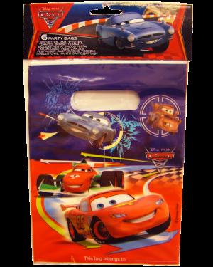 שקיות יום הולדת- מכוניות