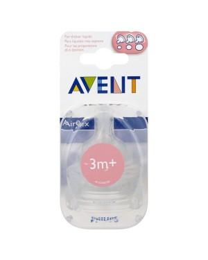 זוג פטמות רב שלביות | AVENT | אוונט | גיל : 3m+