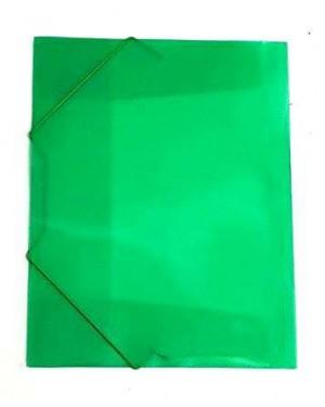 תיקייה עם גומי- צבע ירוק