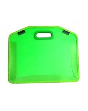 תיק ציור קטן- צבע ירוק