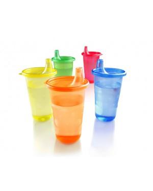 Nuby - כוסות עם מכסה