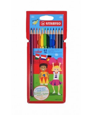 עפרונות צבעוניים 12 צבעים