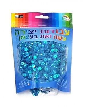 פייטים-צבע כחול