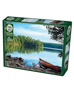 פאזל נוף אגם 1000 חלקים ברשת בזאר שטראוס צעצועים