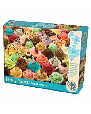 פאזל כדורי גלידה צבעוניים 350 חלקים