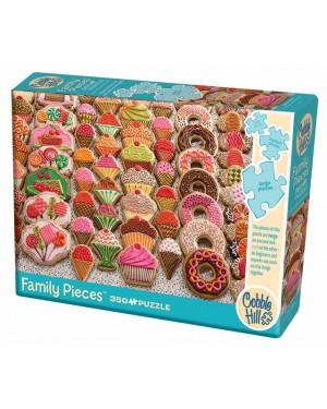 פאזל עוגיות 350 חלקים ברשת בזאר שטראוס צעצועים