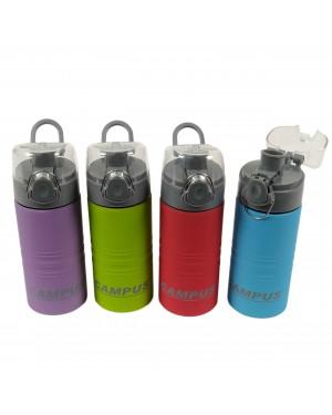בקבוק מים קמפוס נירוסטה מיועד למים קרים 500 מל