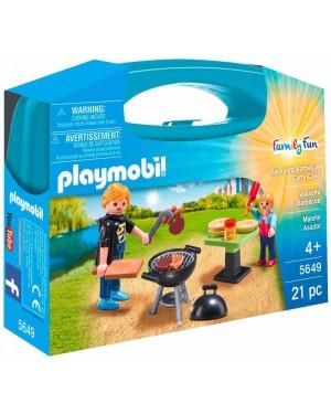 פליימוביל מזוודת ברביקיו דגם 5649 playmobil