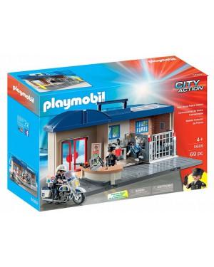 פליימוביל תחנת משטרה דגם 5689 במארז נשיאה