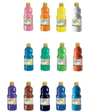 """צבעי גואש 600 מ""""ל - GIOTTO"""