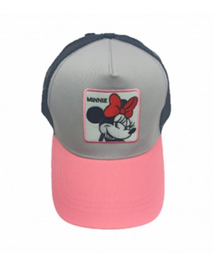 כובע מצחיה נערות | ורוד | מיני מאוס