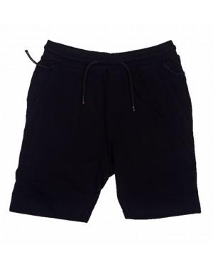 מכנס טריקו קצר לבנים | גומי עבה