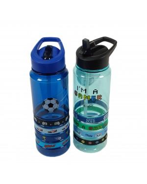 בקבוק בנים איכותי מפלסטיק קשיח בזאר שטראוס צעצועים