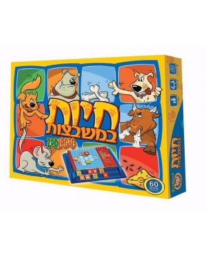 חיות במשבצות פוקסמיינד בזאר שטראוס צעצועים