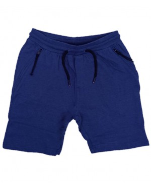 מכנס טריקו קצר לנוער | מגוון צבעים | רוכסן בכיסים