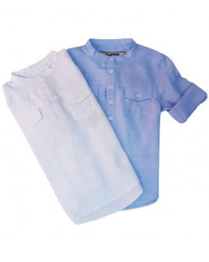 חולצה מכופתרת בנים
