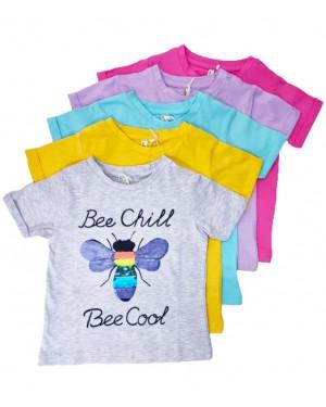 חולצה פרפר פייטים צבעים לבחירה ברשת בזאר שטראוס