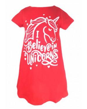 שמלת קיץ דלתא צבע לבחירה אדום