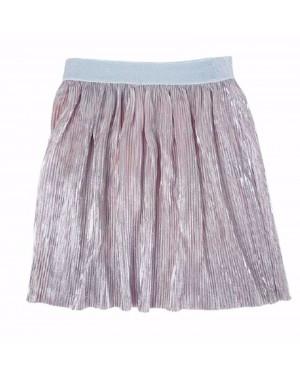 חצאית פליסה - צבעים לבחירה ורודה