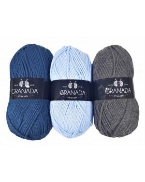 חוטי צמר גרנדה Granada כל הצבעים לבחירה