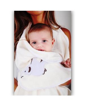 מגבת מיקרופייר לתינוק- ציפי דבש