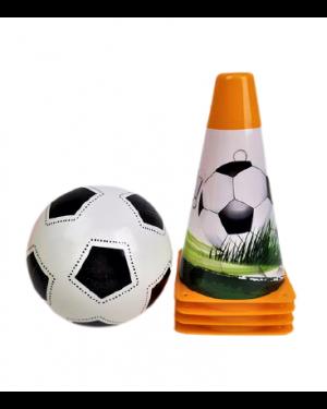 קונוסים וכדור