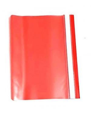תיקייה שקופה- צבע אדום