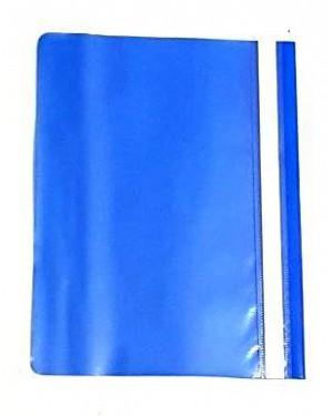 תיקייה שקופה- צבע כחול