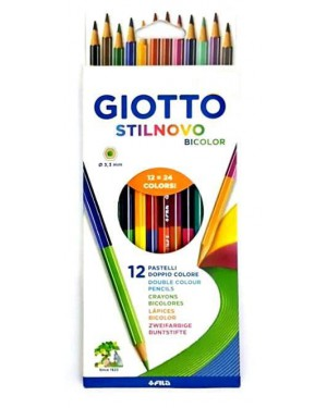 צבעי עיפרון דו צדדי GIOTTO