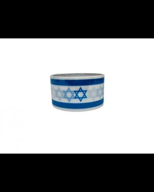סרט הדבקה עבה דגל ישראל