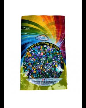 פייטים מעורב צבעים 100 גרם