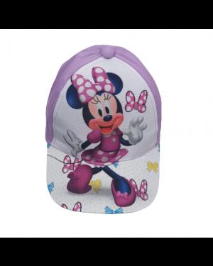 כובע מצחיה בנות | סגול לילך | מיני מאוס