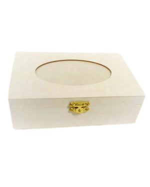 קופסת עץ | תכשיטים | 16*11.5*5