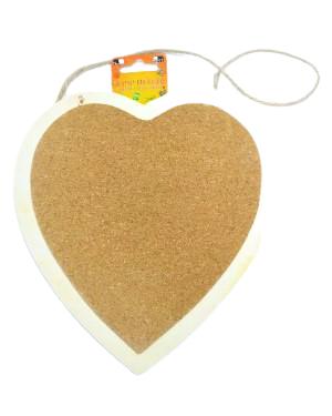 לב עץ+שעם לתליה | יצירה